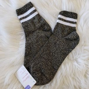 3/$20 NWT Xhilaration Gold Glitter Ankle Socks